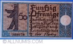 50 Pfennig 1921 (17) - Berlin
