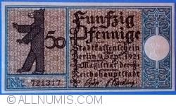 50 Pfennig 1921 (20) - Berlin