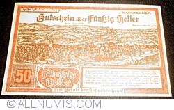 Image #1 of 50 Heller 1920 - Mannersdorf am Leithagebirge
