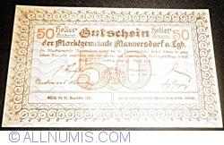 Image #2 of 50 Heller 1920 - Mannersdorf am Leithagebirge