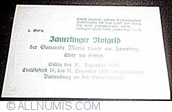 Imaginea #2 a 50 Heller ND - Maria Laach am Jauerling (3. Serie)