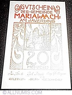 Imaginea #1 a 20 Heller ND - Maria Laach am Jauerling (1. Serie)