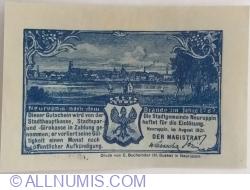 Imaginea #2 a 25 Pfennig 1921 - Neuruppin