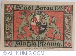 50 Pfennig 1921 - Sorau