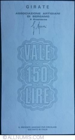 Image #2 of 150 Lire 1977 (15. IX.) - Bergamo