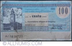 Image #1 of 100 Lire 1977 (26. I.) - Bergamo