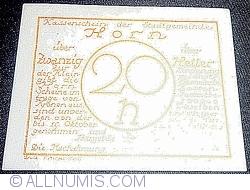 Imaginea #2 a 20 Heller 1920 - Horn