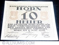 Imaginea #1 a 10 Heller 1920 - Horn