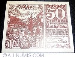 Imaginea #1 a 50 Heller 1920 - Hinterstoder