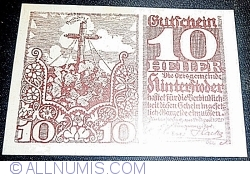 Imaginea #1 a 10 Heller 1920 - Hinterstoder
