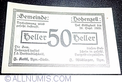 Image #1 of 50 Heller 1920 - Hohenzell