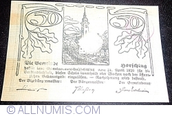 Image #2 of 50 Heller 1920 - Hörsching