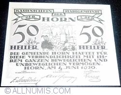 Imaginea #1 a 50 Heller 1920 - Horn