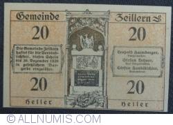 Imaginea #2 a 20 Heller ND - Zeillern