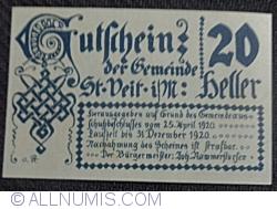 Image #2 of 20 Heller 1920 - Sankt Veit im Mühlkreis