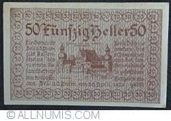 Imaginea #1 a 50 Heller 1920 - Zell an der Pram