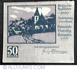Image #1 of 50 Heller 1920 - Kematen an der Krems