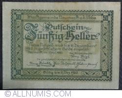Imaginea #2 a 50 Heller 1920 - Neumarkt an der Ybbs