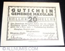 Image #1 of 20 Heller 1920 - Maxglan