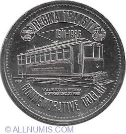 Image #1 of 1 Dollar 1986 - Regina