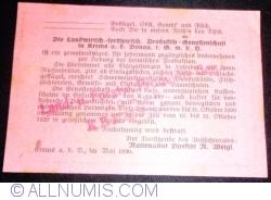 100 Heller 1920 - Krems