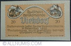 Image #1 of 20 Heller 1920 - Viehdorf