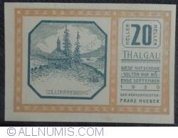 Imaginea #1 a 20 Heller ND - Thalgau