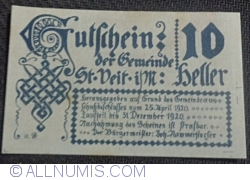 Image #2 of 10 Heller 1920 - Sankt Veit im Mühlkreis