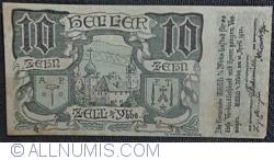 Imaginea #1 a 10 Heller 1920 - Zell an der Ybbs