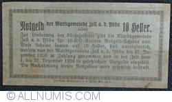 Imaginea #2 a 10 Heller 1920 - Zell an der Ybbs