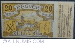 Imaginea #1 a 20 Heller 1920 - Zell an der Ybbs