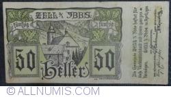 Imaginea #1 a 50 Heller 1920 - Zell an der Ybbs