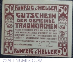 Image #2 of 50 Heller 1920 - Traunkirchen