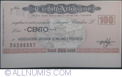 100 Lire 1977 (3. I.) - Milano