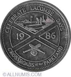 Image #1 of 1 Dollar 1986 - Lacombe