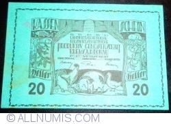 20 Heller 1920 - Krems