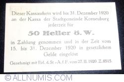 Image #2 of 50 Heller 1920 - Korneuburg