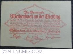 Image #2 of 50 Heller 1920 - Weiszenbach an der Treisting