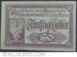 Image #1 of 50 Heller 1920 - Weiszenbach an der Treisting