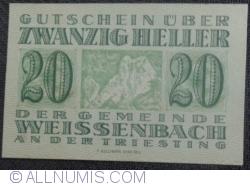 Image #1 of 20 Heller 1920 - Weiszenbach an der Treisting