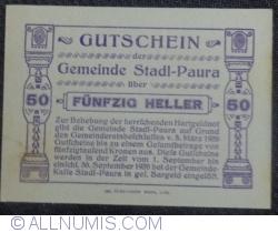 Imaginea #2 a 50 Heller 1920 - Stadl-Paura