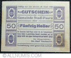 Imaginea #1 a 50 Heller 1920 - Stadl-Paura