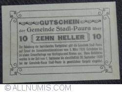 Imaginea #2 a 10 Heller 1920 - Stadl-Paura