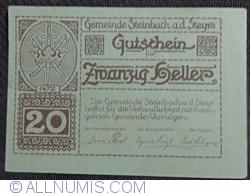 Imaginea #1 a 20 Heller ND - Steinbach an der Steyr