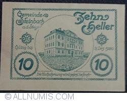 Imaginea #2 a 10 Heller ND - Steinbach an der Steyr