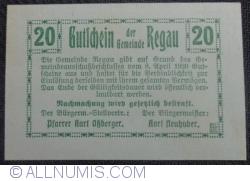 Imaginea #2 a 20 Heller 1920 - Regau