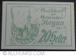 Imaginea #1 a 20 Heller 1920 - Regau