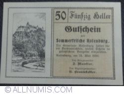 Image #1 of 50 Heller 1920 - Rofenburg