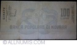 Imaginea #2 a 100 Lire 1977 (20. I) - Novara (LUIGI BOSCA & FIGLI S.p.A CANELLI)