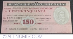 Image #1 of 150 Lire 1977 (3. XI.) - Brescia